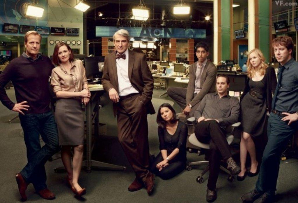 Introducing HBO's THE NEWSROOM