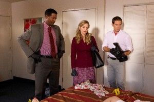 A scene from the final season of THE CLOSER