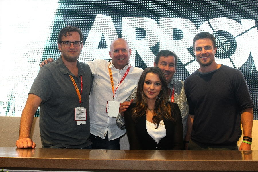Entering the World of ARROW at Comic Con