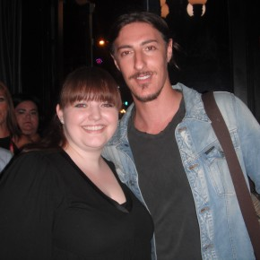 Nice Girl Leah and Eric Balfour at Syfy's Haven party