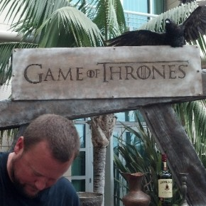 Game of Thrones at Wired Cafe - SDCC 2012
