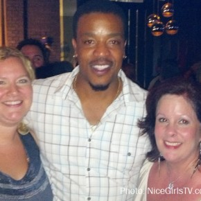 Russell Hornsby, Mel and I at NBC Party - SDCC 2012