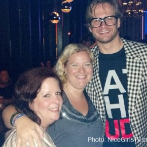 Bryan Fuller, Mel and I at NBC Party - SDCC 2012
