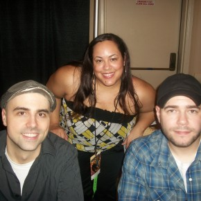 Nice Girl Lisa with Dave Tango and Steve Gonsalves from SyFy's hit show Ghost Hunters.