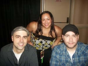 Nice Girl Lisa with Dave Tango and Steve Gonsalves from SyFy&#039;s hit show Ghost Hunters.