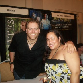 Nice Girl Lisa and Josh Gates from the Syfy hit Destination Truth
