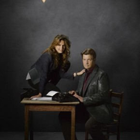 "ABC's ""Castle"" - STANA KATIC, NATHAN FILLION"