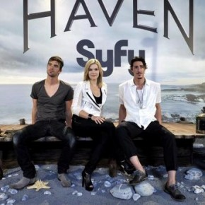 Emily Rose, Eric Balfour and Lucas Bryant Present 'Haven' in Madrid