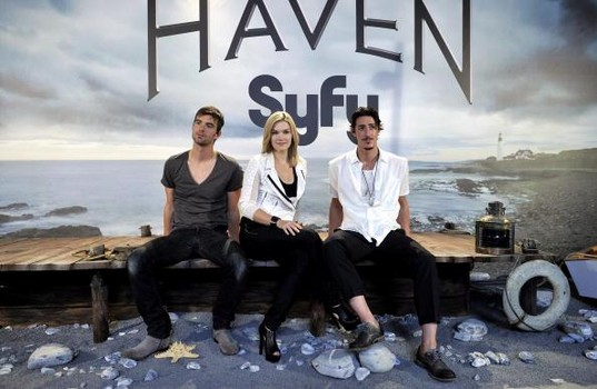 HAVEN: Emily Rose, Eric Balfour, & Lucas Bryant Crack Us Up Previewing Season 3