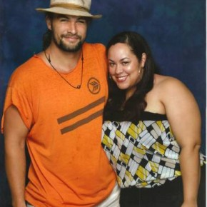 Nice Girl Lisa and the handsome Jason Momoa