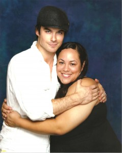 The beautiful Ian Somerhalder and Nice Girl Lisa.