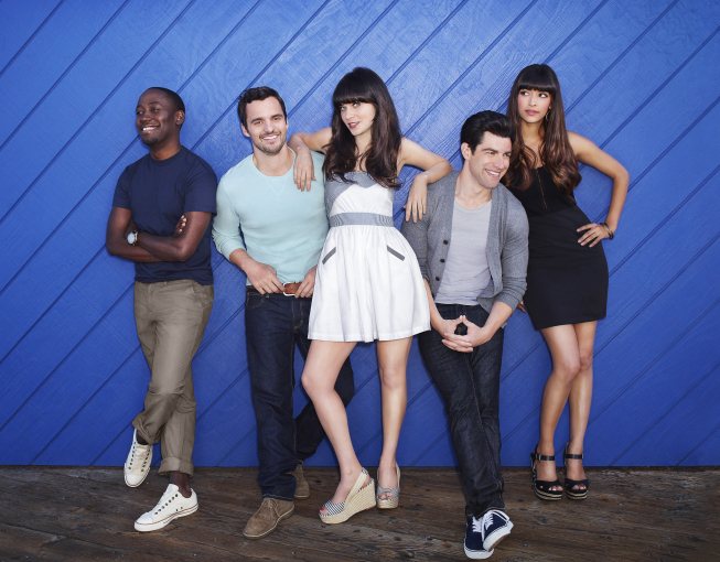 NEW GIRL: Season 2 Cast Photos with Jess, Nick, Schmidt, Winston & CeCe