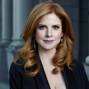 Sarah Rafferty as DonnaPhoto by: Robert Ascroft/USA Network