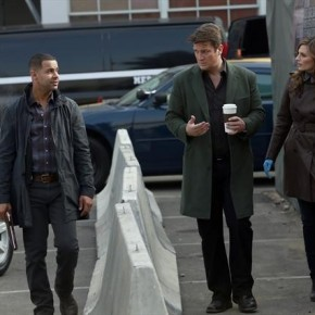 JON HUERTAS, NATHAN FILLION, STANA KATIC