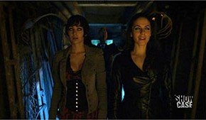 Bo and Kenzi with Hamelin