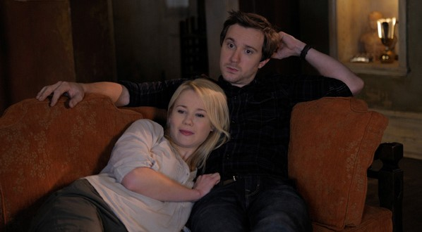 BEING HUMAN: A Werewolf & A Human Sit Down for an Interview – Kristen Hager & Sam Huntington