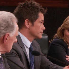 Parks & Recreation S05E11 - Women in Garbage_Council Meeting