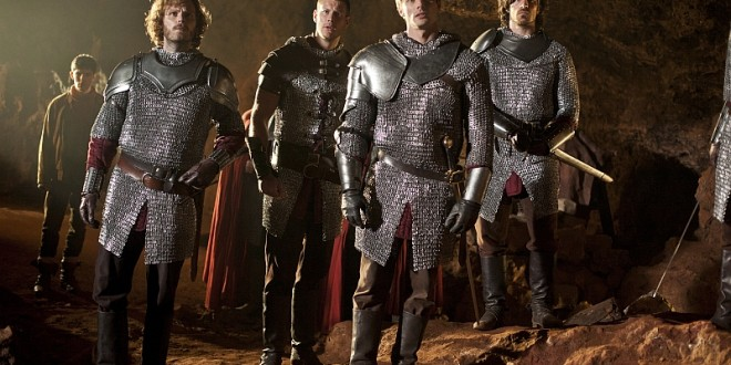 MERLIN: Bradley James Talks Comaradarie and Friendship Among His Knights