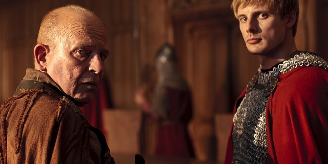 "MERLIN: ""The Hollow Queen"" Showcases More Swordplay from Bradley James"