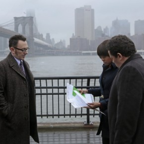 Finch, Carter, and Fusco share information about Kara