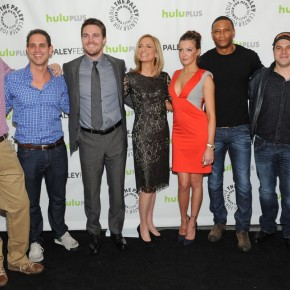 Cast and Creative Team with Geoff Johns