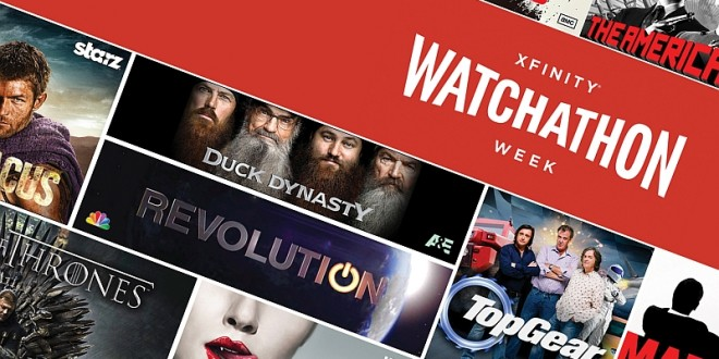 Xfinity Launches Week Long Watchathon Today!