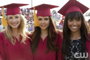 THE VAMPIRE DIARIES: Graduation Recap