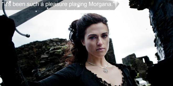 MERLIN: Katie McGrath on Playing Morgana to the End