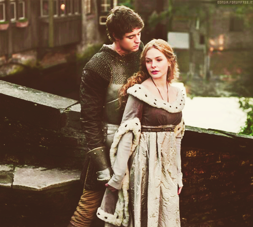 The White Queen (Max Irons and Rebecca Ferguson)