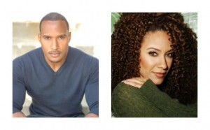 Henry Simmons and Sophina Brown