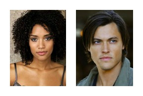 Annie Ilonzeh and Blair Redford