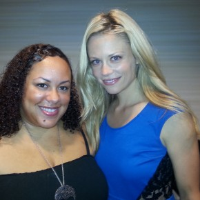 Claire Coffee with Nice Girl Lisa at Dragon Con 2013.