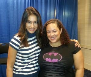 Janina Gavankar sat down with Lisa to talk True Blood, Arrow and The Vampire Diaries.