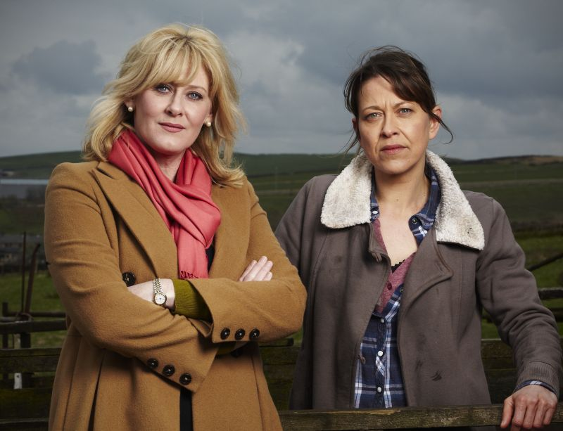 Caroline (SARAH LANCASHIRE and Gillian (SARAH WALKER)