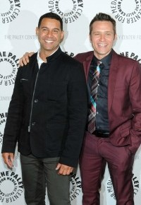 Jon Huertas and Seamus Dever