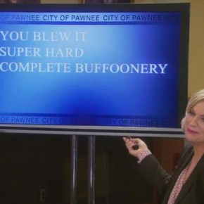 Parks&Rec S06E03 - Tipoff Classic_LeslieGloatsPowerpoint
