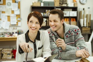 WINDOW WONDERLAND: Romance in the Workplace with Chyler Leigh and Paul Campbell