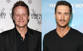 Will Chase and Oliver Hudson
