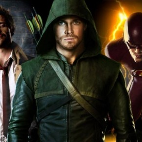 Constantine Arrow The Flash