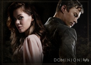 DOMINION Interview with Tom Wisdom & Roxanne McKee. Secrets, Twitter, Relationships & Giggles.