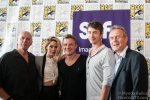 Dominion: Photos of the Cast at Comic Con 2014
