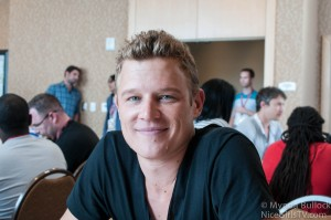 DOMINION Interview Christopher Egan at Comic-Con & Second Season Musings