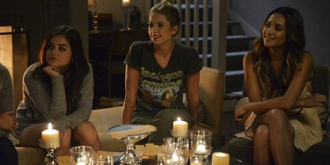 "Sneak Peek at Tonight's PRETTY LITTLE LIARS: ""We Love You to DeAth"""