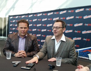 PERSON OF INTEREST: Kevin Chapman and Michael Emerson at New York Comic Con {Video}