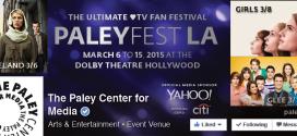 Paley Fest 2015 Announces Full Line-Up