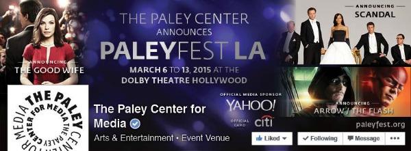 Paley Fest 2015