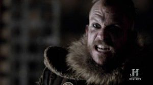 First Looks At Thursdays VIKINGS 'Born Again.' Floki Rocks The Guyliner!