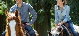 Jesse Metcalfe and Autumn Reeser in A COUNTRY WEDDING