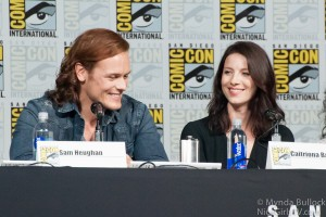 More Comic Con 2015 Outlander Video and Sam Heughan News