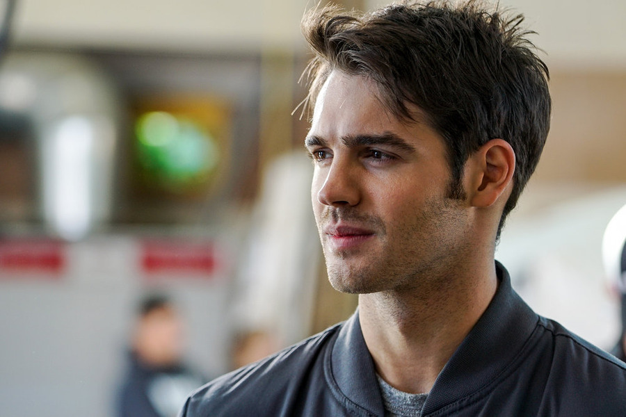 "CHICAGO FIRE -- ""When Tortoises Fly"" Episode 408 -- Pictured: Steven R. McQueen as Jimmy Borrelli -- (Photo by: Elizabeth Morris/NBC)"